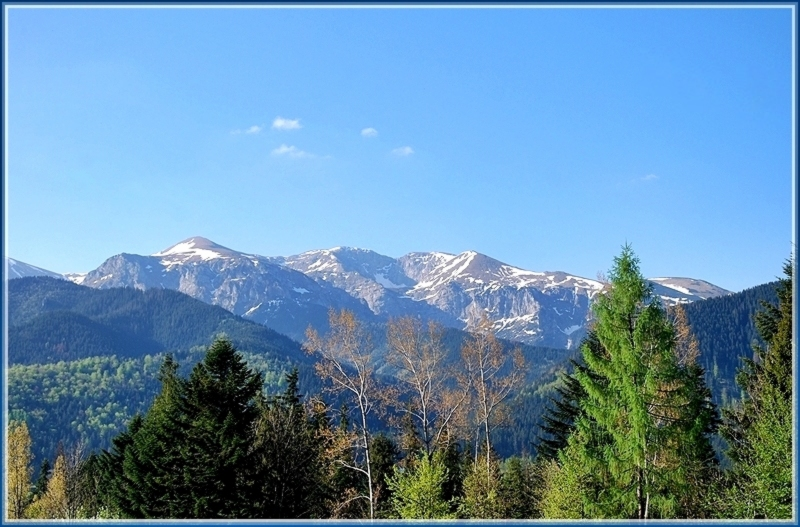 Tatra Mountains in the distance