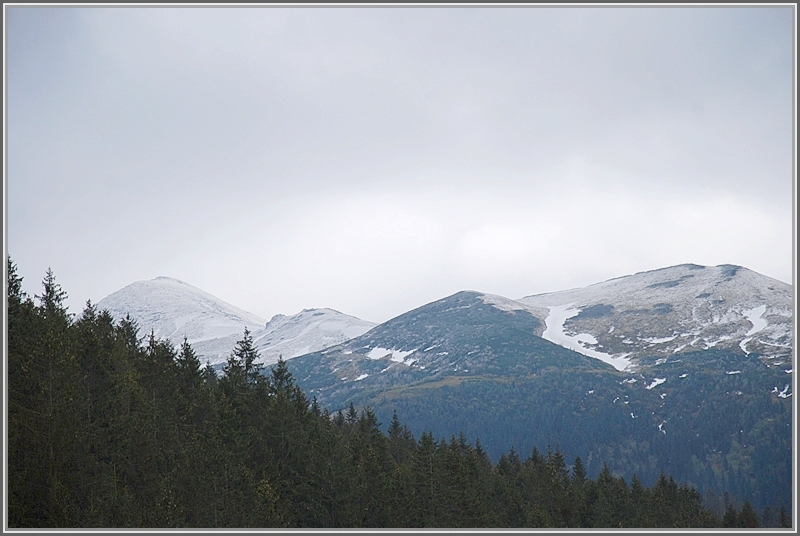 Partly cloudy in the Tatras