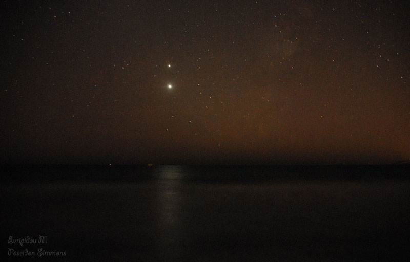 Venus and Jupiter meet