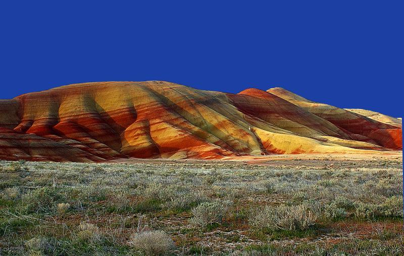 John Day Fossil; Beds N.M.