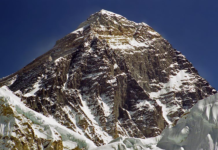Everest. The famous 8000