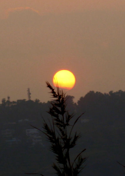 Sunset at Panchgani