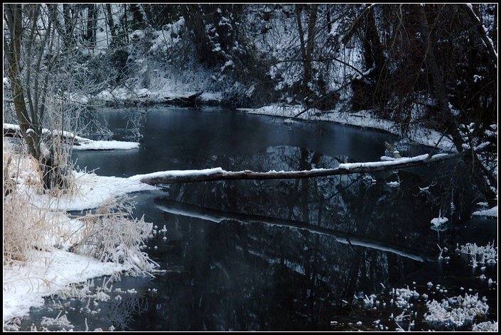 Cold Blue Confluence