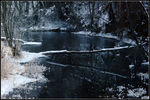 Title: Cold Blue Confluence